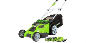 GreenWorks G25302 G-MAX Electric Lawn Mower