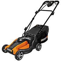 Worx WG782 cordless lawn mower