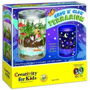 faber castell grow n glow kids terrarium