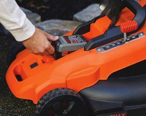 lithium lawn mower