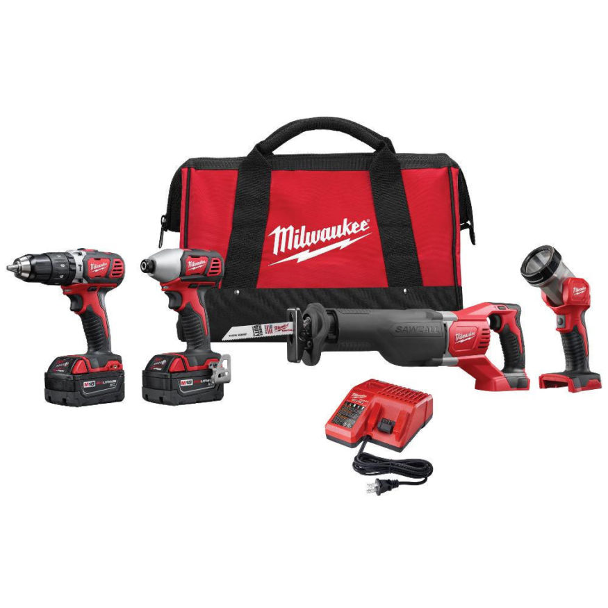 Milwaukee 4 tool combo set