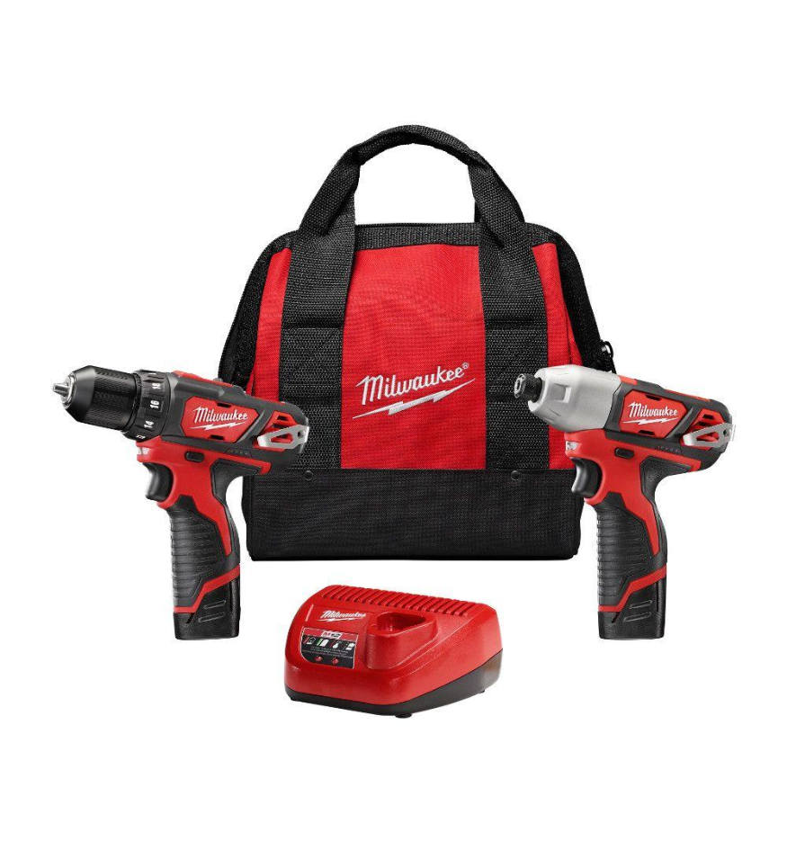 Milwaukee 12v cordless tool set