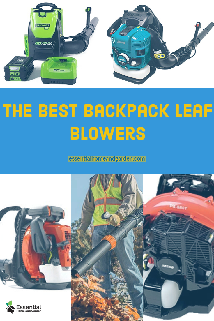 the best backpack leaf blowers