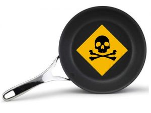 cookware with toxic coating