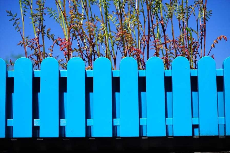fence colored bold