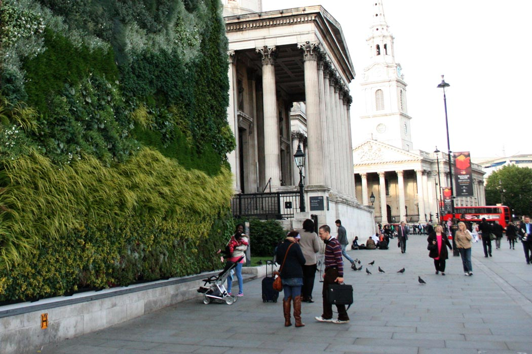 national gallery london living wall