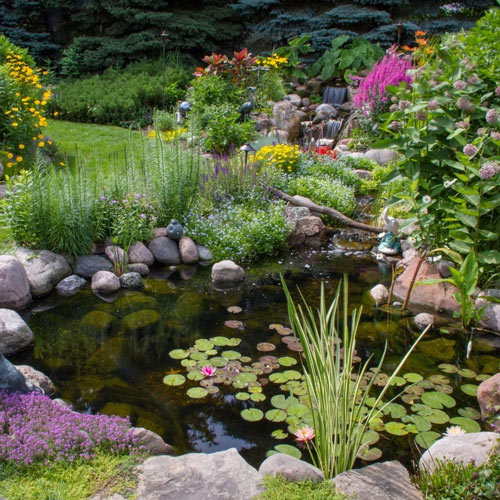 Pebble Effect Pond Liner