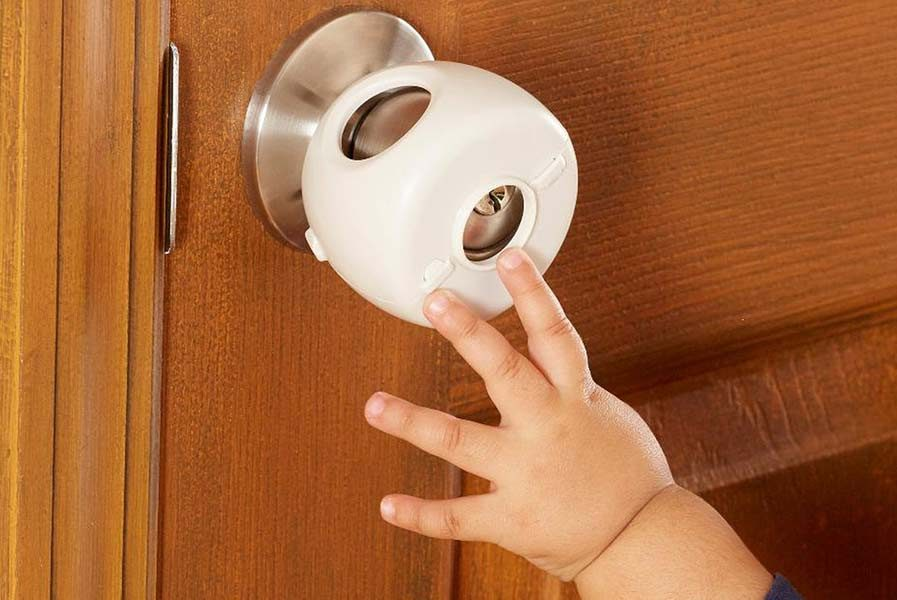 child proof bathroom door