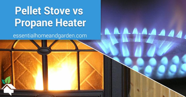 pellet stove vs propane