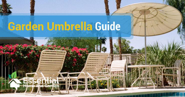 garden umbrella guide