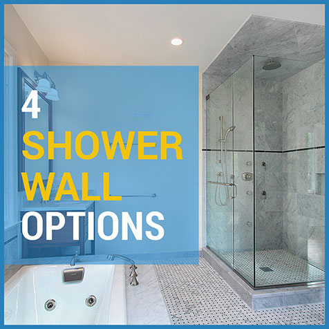 4 Shower Wall Options For Your Next Bathroom Renovation - Essential ...
