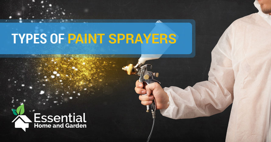 types of paint sprayers