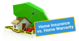 home insurance vs home warranty