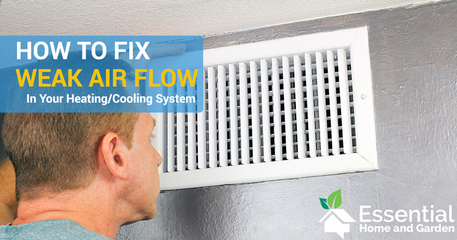 how to increase air flow in air duct