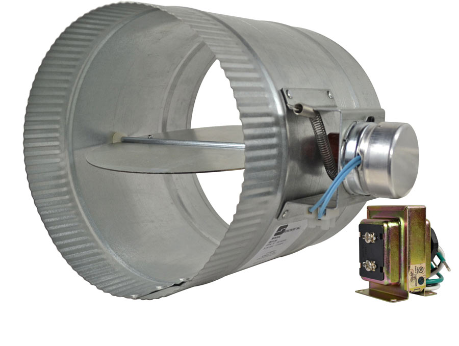 air duct damper valve