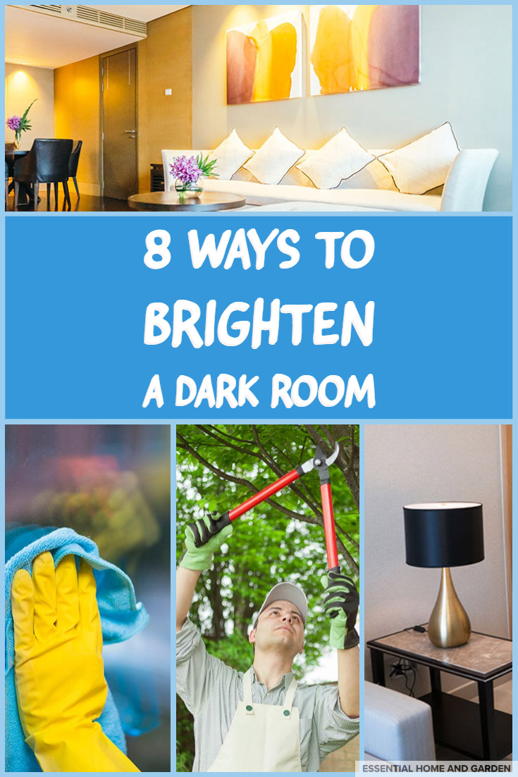 HOW TO BRIGHTEN A DARK ROOM
