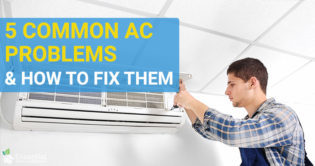 5 Common Air Conditioning Problems and How To Fix Them
