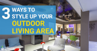 3 Outdoor Living Extras to Style Up Your Outdoor Living Area