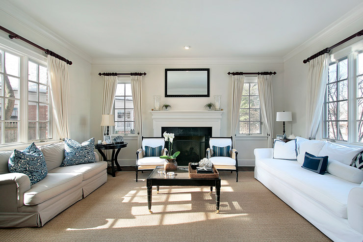 Decorate A Transitional Living Room