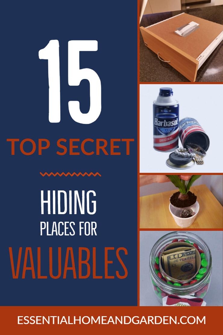 hiding spots