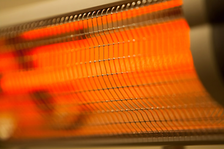 infrared electric heating
