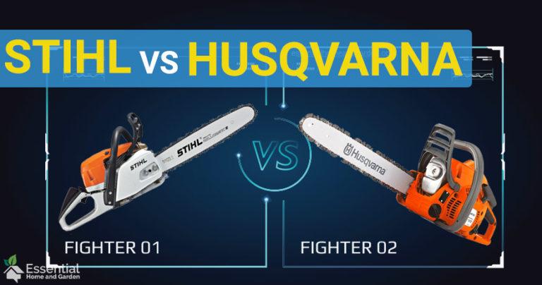 Stihl vs Husqvarna chainsaws