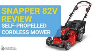 snapper 82v mower review
