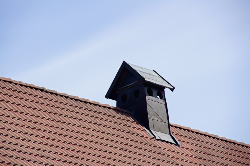 cupola vent on roof of house