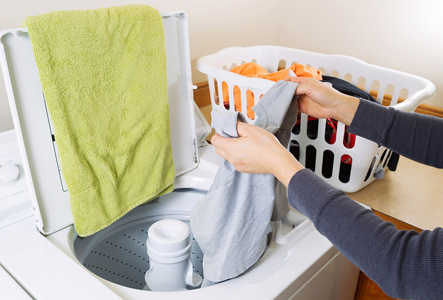 Small Laundry Room Ideas with a Top-Loading Washer