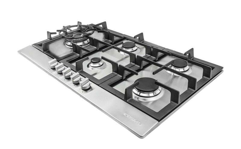 cosmo 5 burner cooktop