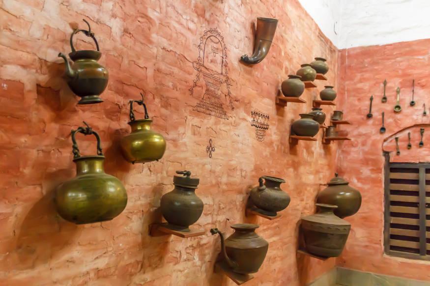 ancient brass cookware