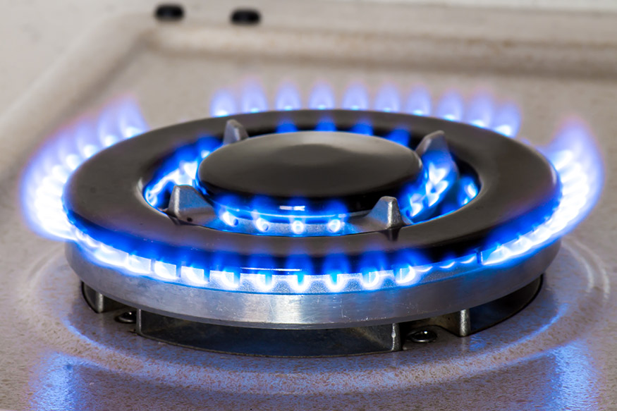 gas cooktop burner
