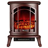 e-Flame USA Tahoe LED Portable Freestanding Electric Fireplace Stove