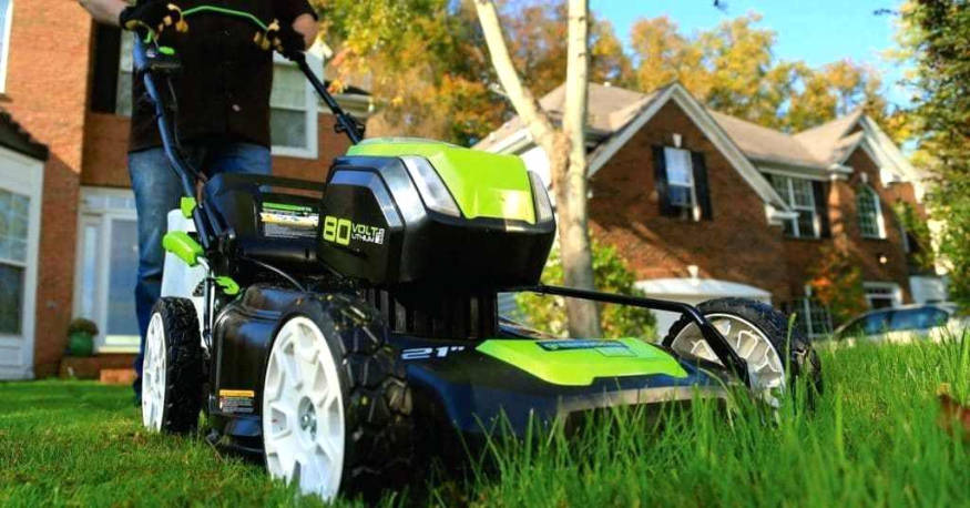 Greenworks 80v battery powered mower