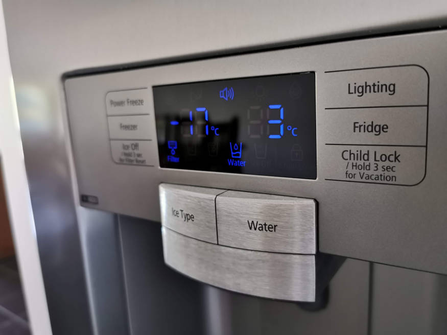 fridge thermostat