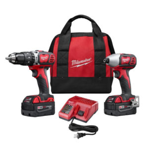 M18 2 Tool Combo Kit with 3 Batteries