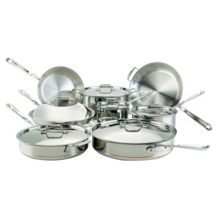 all clad 14 piece cookware set