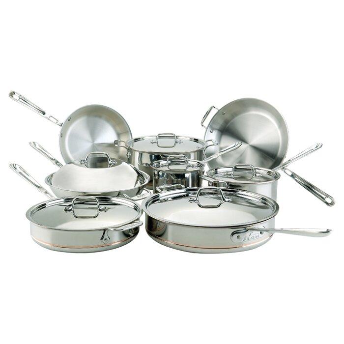 all clad 14 piece cookware set