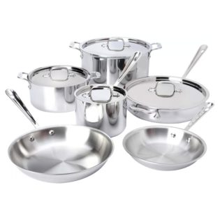all clad 10 piece cookwar set