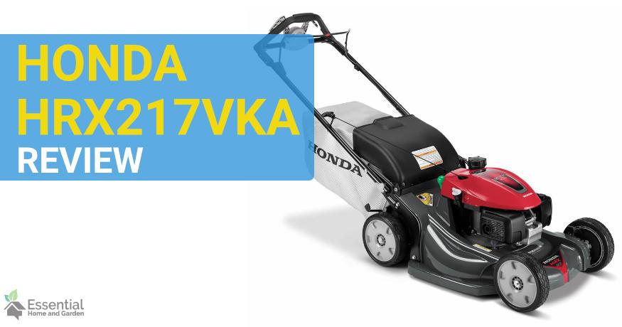 honda HRX217VKA lawn mower review