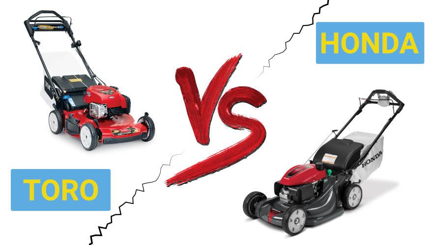 Honda vs Toro Lawn Mowers