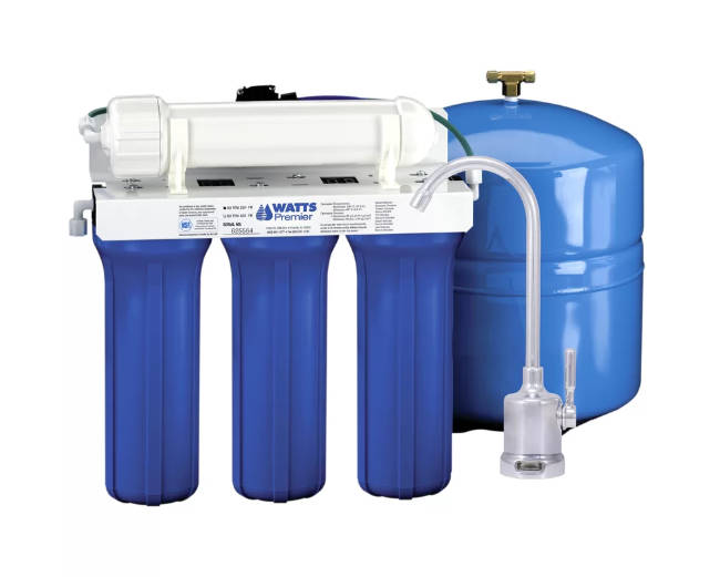 Watts 500016 Five Stage EPA/ETV Verified Reverse Osmosis System