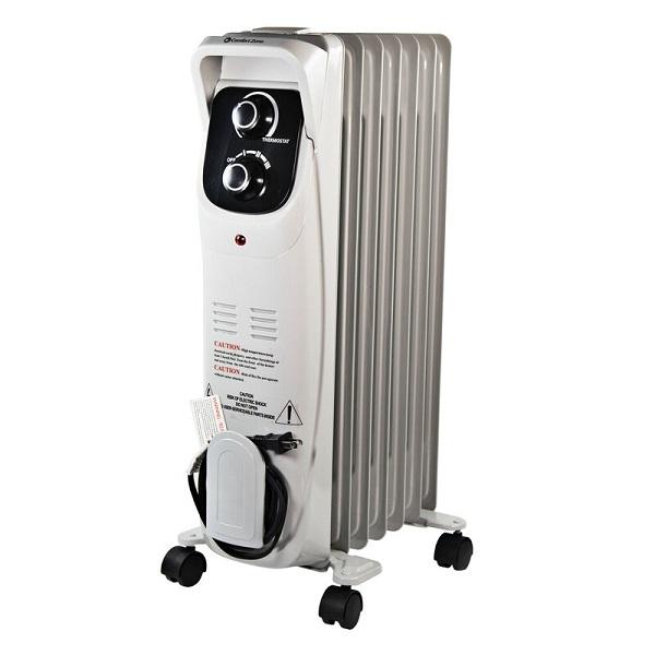 best oil filled heater Comfort Zone 1500w