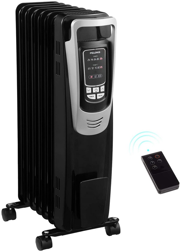best oil filled heater Pelonis Electric 1500