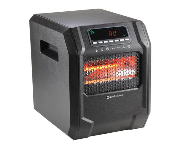 comfortzone electric heater