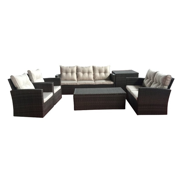 Sol 72 Outdoor 6 Piece Sofa Seating Group
