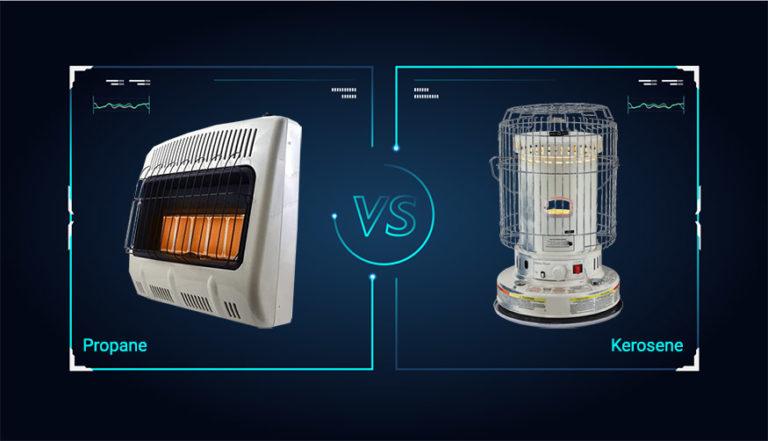 kerosene heater vs propane