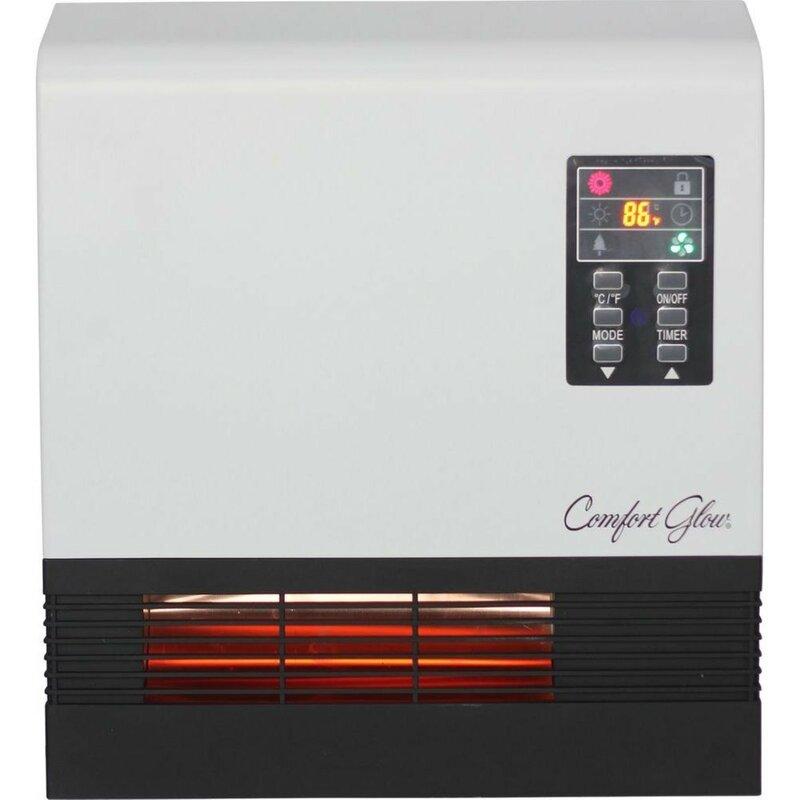 5120 btu wall electric infrared heater