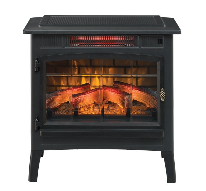 Duraflame Electric 3D Flame Effect Infrared Quartz Electric Fireplace
