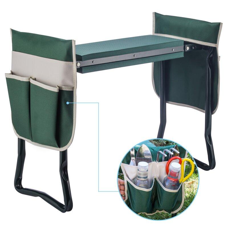 standwood metal garden stool kneeler